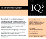 Financial Times IQ Email
